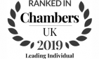 Ranked in Chambers UK 2019 - Leading Individual