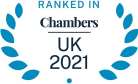 Ranked in Chambers UK 2021